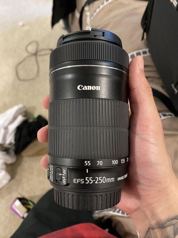 Canon T7i With 55-250mm Canon Lens