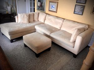 Sectional sofa and ottoman for Sale in Longwood, FL