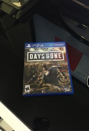 Days gone for ps4 for Sale in El Cajon, CA