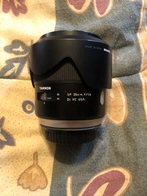 Tamron 35mm 1.8 for Canon E mount for Sale in Chesapeake, VA