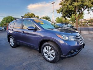 2012 HONDA CRV EXL W/NAVI FULLY LOADED AND RUNS EXCELLENT for Sale in Modesto, CA