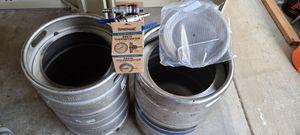 2 - 15 gallon kegs / brew pots for Sale in Gresham, OR