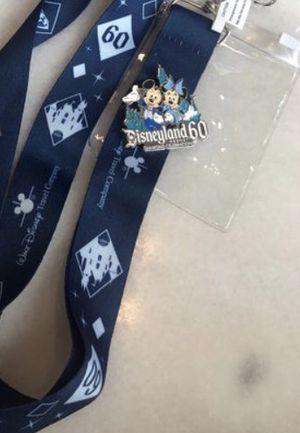 Disney 60th anniversary lanyard plus pin $10 obo for Sale in Norwalk, CA
