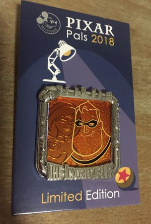 Pixar Pals Incredibles Disney Pin LE- NEW for Sale in Sunnyvale, CA
