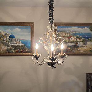 Swarovski Crystal Light Fixture for Sale in Dallas, TX