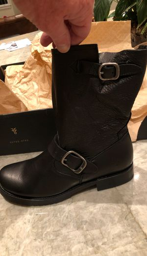 Frye Ladies Black Boots Size 8M for Sale in Alamo, CA