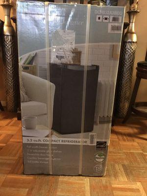 DANBY Refrigerator and Freezer,3.2 cu ft,Black DCR032A2BDD for Sale in Boston, MA