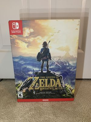 NEW The Legend of Zelda: Breath of the Wild - Special Edition Nintendo Switch Game for Sale in Huntington Beach, CA