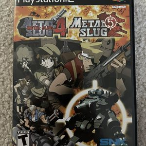 PS2 Metal Slug 4/5 for Sale in Allen, TX