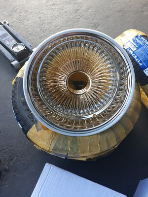 "Galaxy wire wheels 14'7 ""NEW"" for Sale in Riverside, CA"