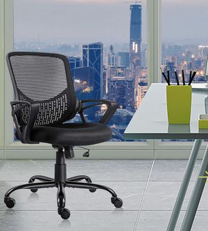 SmugChair Mesh Mid Back Office Chair for Sale in Fresno, CA