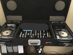 DJ EQUIPMENT,, DENON CD PLAYERS ,, MIXER, Microphone zennheiser..Equipo para DJ.. for Sale in San Diego, CA