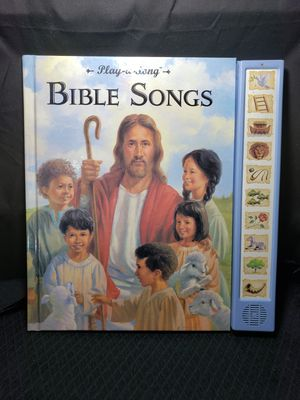 """Play a song Bible songs . New batteries . 12"""" X 12"""" book for Sale in Zanesville, OH"""