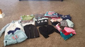 Girls clothing. Justice! Kohl's, JC Penney's, dance wear, Jackets' Hoodies and more!!! This is just a few. I have a bag full for you... for Sale in North Las Vegas, NV