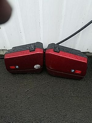 BMW motorcycle saddlebags oem luggage for Sale in Portland, OR
