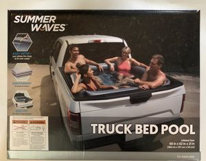 Summer Waves - Truck Bed Pool - New! for Sale in Concord, NC