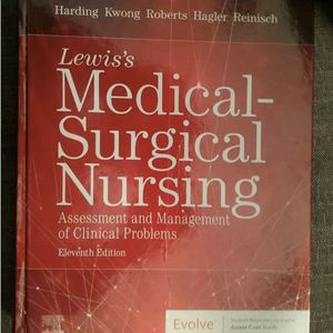 Brand New Lewis Eleventh Edition MedSurg Text Book *pick up only* for Sale in Hacienda Heights, CA