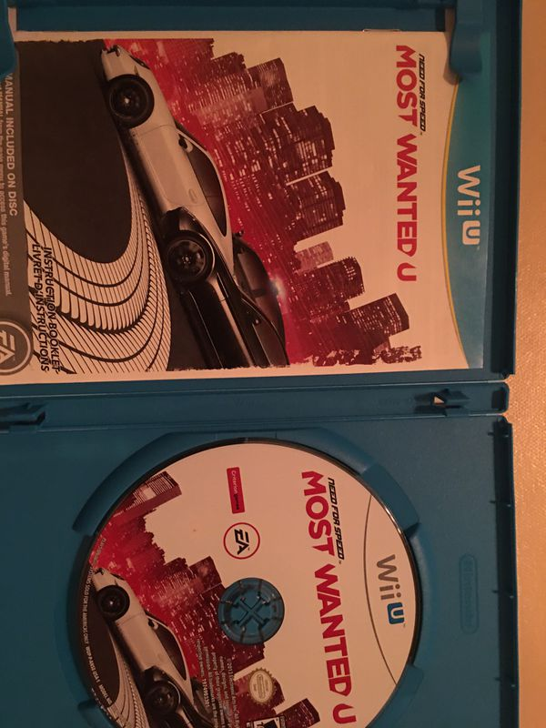 Nintendo Wii U need for speed most wanted