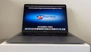 2018 MacBook Air 13 inch Retina & Touch ID AppleCare until 2021 Upgraded 256GB version Space Gray Laptop / Notebook for Sale in Buda, TX
