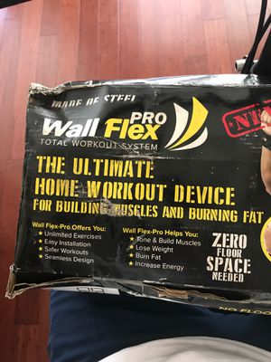 Wall flex pro fitness for Sale in San Diego, CA