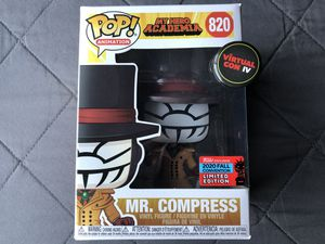 Funko Pop Mr Compress My Hero Academia Anime Vinyl figure collectible toy for Sale in Los Banos, CA