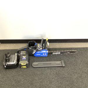 "Kobalt 80V Max Lithium Ion 18"" Chainsaw / Chain Saw for Sale in Auburn, WA"