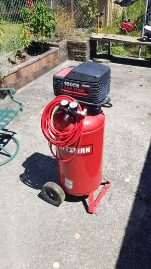 Craftsman air compressor for Sale in Puyallup, WA