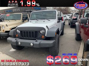 2013 Jeep Wrangler for Sale in Inwood, NY