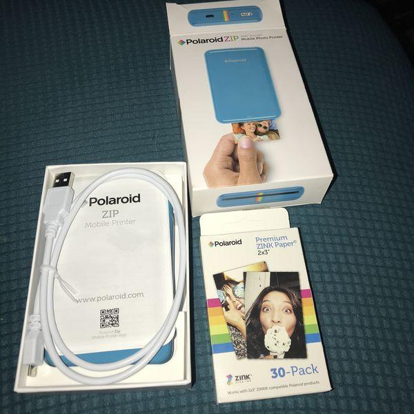 Polaroid Zip Mobile Printer!!