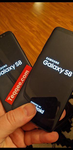 2 sim unlocked samsung galaxy s8 64gb for Sale in Elk Grove, CA