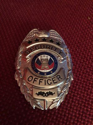 Security Officer Badge for Sale in Fort Washington, MD