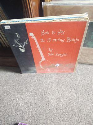Pete Seeger- How to play the five string banjo vinyl for Sale in West Jordan, UT