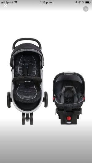 New Graco aire3 travel system ( stroller and car seat ) Gotham for Sale in Pickerington, OH
