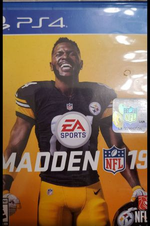 Madden 19 PS4 for Sale in Fresno, CA
