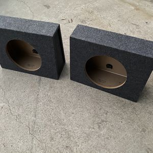 ($70 No Less ) New 12s Single Cab Truck Sub Boxes ( Sold As A Pair ) for Sale in Sanger, CA