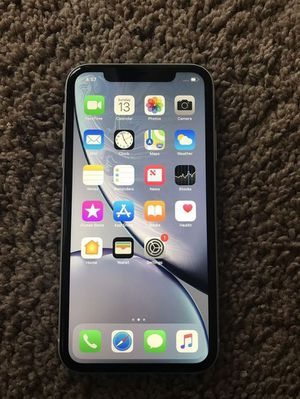 Iphone X r White 256gb for Sale in Syracuse, NY