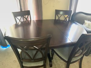 DINING ROOM TABLE 6 CHAIRS!! for Sale in La Mesa, CA