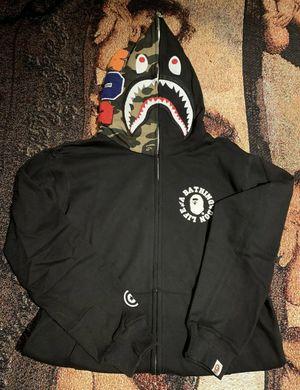 Bape black zip hoodie new for Sale in Orange, CA