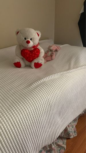 Wood Twin bed with mattress for Sale in Kissimmee, FL