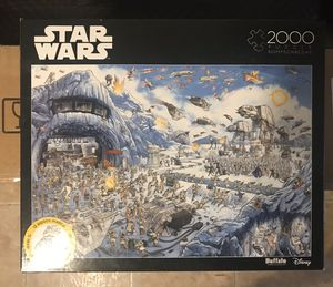 New Buffalo Games Star Wars You Were the Chosen One 2000 Piece Jigsaw Puzzle for Sale in Brooklyn, NY
