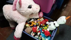 stuffed animals ganz russ hershey disney ty babies musical $20 obo heavy trash is wednesday for Sale in Evansville, IN