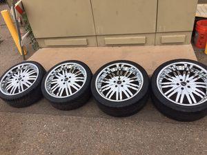"""MHT Forged Manhattan Wheels 20"""" 5x114.3 for Sale in Tempe, AZ"""