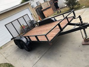 2018 utility trailer 7x12 for Sale in Oxnard, CA
