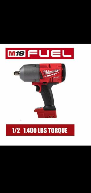 MILWAUKEE M18 FUEL 18-VOLT LITHIUM-ION BRUSHLESS CORDLESS 1/2 IN IMPACT WRENCH (TOOL-ONLY) 2767-20 for Sale in Riverside, IL