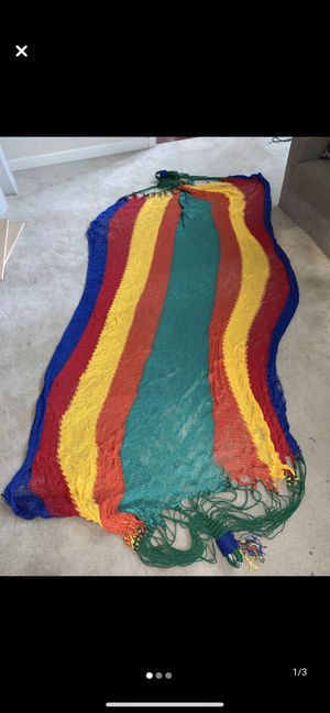 New Authentic Hammock from South America for Sale in Alexandria, VA
