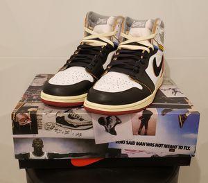 Jordan 1 Union Black Toe (Size 10) for Sale in Downey, CA