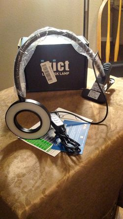 Clip on Light Reading Lights - iVict 24 LED USB Book Clam for Sale in Austin,  TX