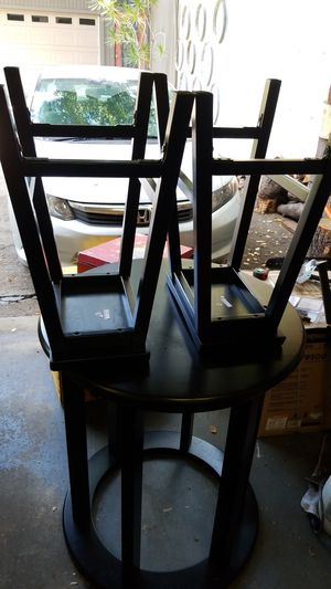 2 person high top table with chairs. for Sale in Oakland, CA