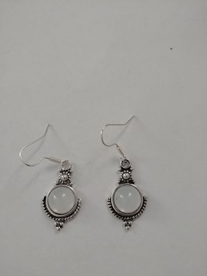 Moonstone Sterling silver earrings for Sale in Fairless Hills, PA