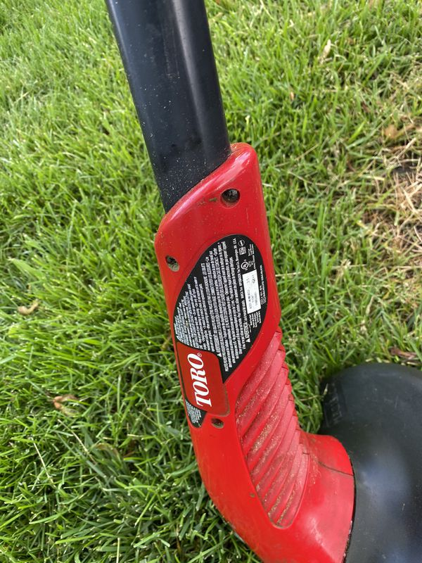 """Toro electric trimmer 11"""" and weed eater 10"""" both in working condition"""